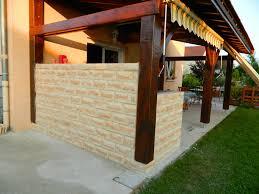 cuisine d ete en beton cellulaire cuisine d été el matos constructions et passions
