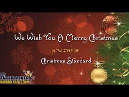 we wish you a merry karaoke