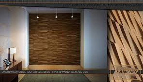 Tiled Wall Boards Bathrooms - lancko walls system baufort river walnut clear natural wood tile
