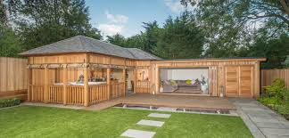 Summer Garden Houses - bespoke garden buildings summer houses crown pavilions