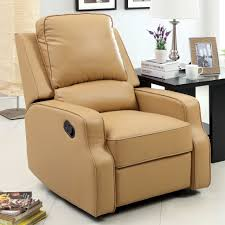 Reading Chairs For Bedroom Bedroom Modern White Fabric Club Chair With Recliner And