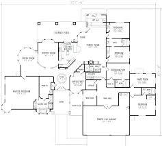 floor plans for 5 bedroom homes single story 5 bedroom floor plans fancy idea simple 5 bedroom home