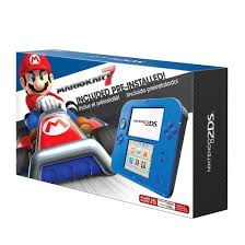 amazon 3ds bundle black friday nintendo 2ds bundle with mario kart 7 electric blue target