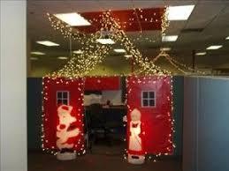 Office Door Decoration Fancy Plush Design Office Christmas Decorating Contest Ideas