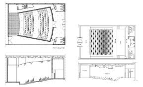 museum floor plan dwg auditorium section 3 u2013 cad design free cad blocks drawings details