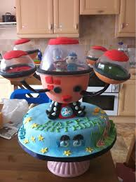 octonauts birthday cake octonauts birthday cake fatnfunky cakes flickr
