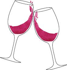 wine glasses clinking wine glasses stickers by libberdoodle redbubble