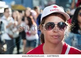torontocanadamarch 152015irish flag along canadian flag stock
