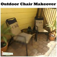 outdoor furniture makeover with hessian burlap cushions