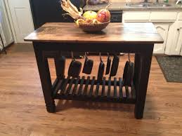 wine bar buffet table built to customer specifications just fine