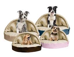 Cave Beds For Dogs Snuggery Burrow Bed Faux Sheepskin Furhaven Pet Products