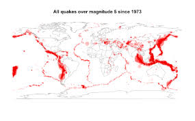 Us Geological Earthquake Map The Moon And Earthquakes Stats Chat