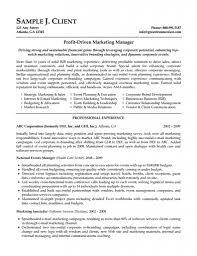 Sample Marketing Assistant Resume Marketing Entry Level Marketing Resume