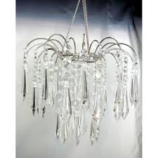clear teardrop crystal fountain chandelier zhllwf4 cry crystal