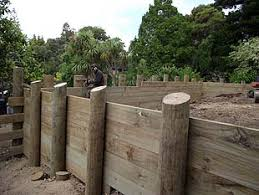 Timber Retaining Wall Design Example Image Gallery HCPR - Timber retaining wall design
