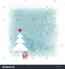 grungy frosty blue christmas card scratches stock vector 116546677