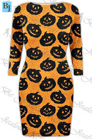 Plus Size Halloween T Shirts by Womens Ladies Halloween Costume Skull Smock Web Spider Flared Mini