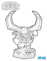 skylanders trap team coloring pages head rush coloring pages