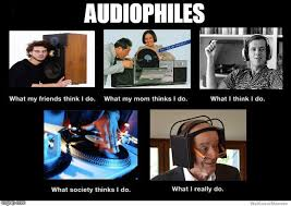 Audiophile Meme - after working in the industry for almost 5 years audiophile