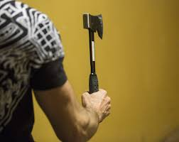grab an ax and join the latest trend in target practice mainetoday