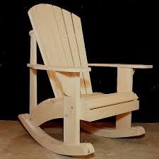 Composite Adirondack Rocking Chairs Adirondack Rocking Chair Retrofit Kit Plans By Thebarleyharvest