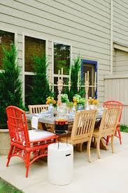 Nautical Table Decoration Ideas Photos Hgtv Outdoor Wood Dining Room With Nautical Table Setting