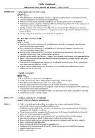 travel manager images Travel manager resume samples velvet jobs jpg