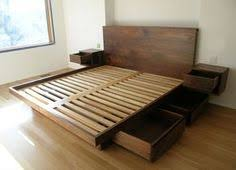 floating platform bed wood projects pinterest floating