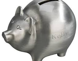 engraved piggy banks engraved piggy bank etsy