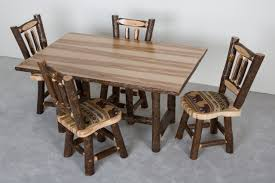 Hickory Dining Room Chairs Viking Log Furniture Supplier Of Fsc U0026 True North Products Mn