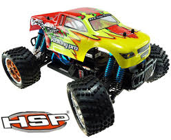 remote control monster jam trucks hsp remote control toys 1 16 scale brushless electric power off