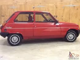 1986 renault alliance 1983 renault 5 gordini turbo red