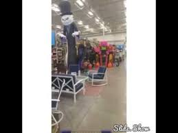 Blow Up Christmas Decorations At Lowes by Lowes Halloween Inflatables 2016 Youtube