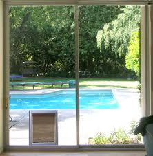 sliding glass doors with pet doors built in a1 sliding door