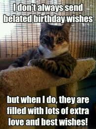 Belated Birthday Meme - happy belated birthday wishes meme and images 9 happy birthday