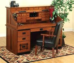 Small Oak Roll Top Desk Oak Roll Top Computer Desk Vintage Oak Roll Top Desk Chairish