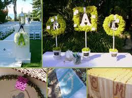 deco mariage original une décoration de mariage personnalisée