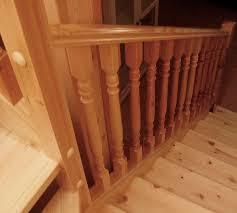 garde corps bois escalier interieur garde corps en bois à barreaux d u0027intérieur pour escalier m