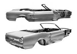 67 Mustang Black Classic Car Body 1967 Ford Mustang Convertible