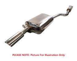 bosal rear silencer exhaust box toyota corolla e12 t3 1 6 petrol