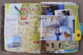 travel journals images Herault gard travel journal elisa pages travel art jpg
