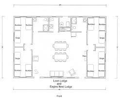 hunting lodge floor plans estate buildings information portal