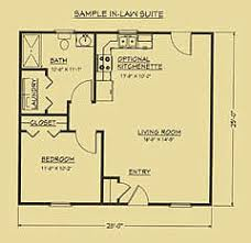 in law suite floor plans floor plan for mother in law suite g ma cottages mil suites