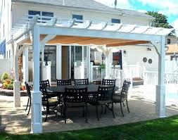 canvas patio covers medium size of pergola outdoor patio covers