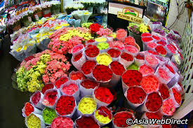 flower wholesale flower market bangkok visit bangkok thailand