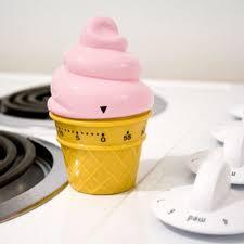 minuteur cuisine rigolo minuteur glace italienne à 4 90