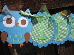 owl boy baby shower home design inspirations