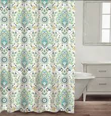 Blue And Green Shower Curtains Navy Blue And Green Shower Curtain Shower Curtains Design