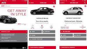 could the avis now app actually make renting a car easy