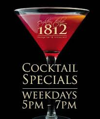 half price restaurant half price cocktails from 5 7pm daily mon fri picture of 1812
